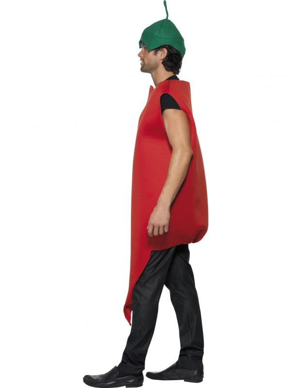 Red Hot Chilli Pepper Costume Side