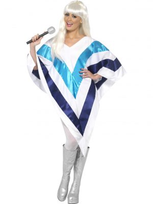 Abba Super Trooper Cape Poncho