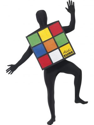 Human Rubiks Cube Costume Front