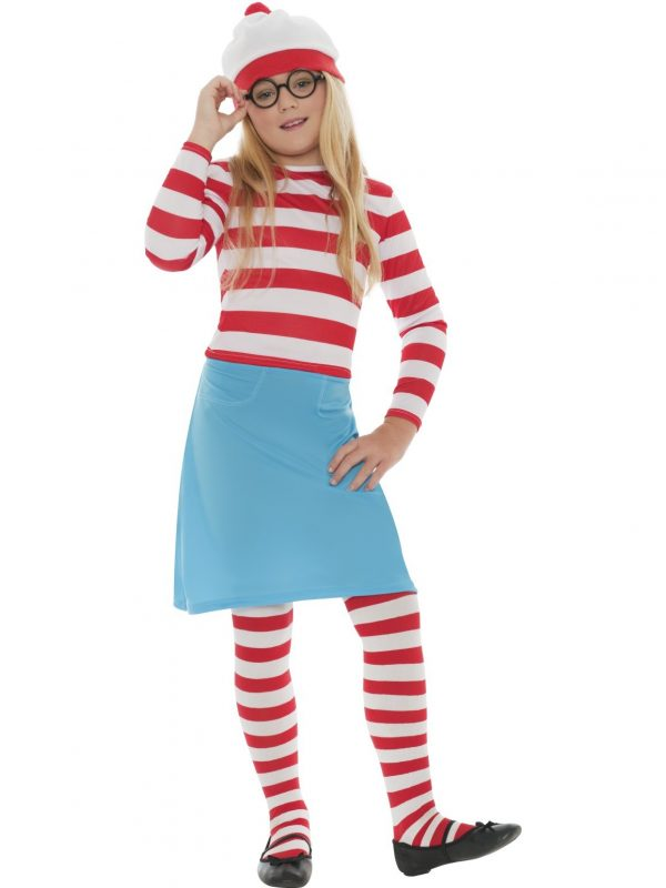 Where's Wally Child Girl Costume - image 38793_0-600x800 on https://www.abracadabrafancydress.com.au