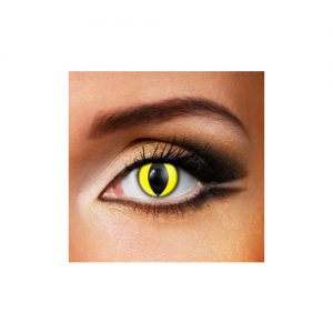 Yellow Cat Eye 1 Day Contact Lens