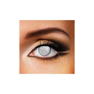 White Mesh 1 Day Contact Lens