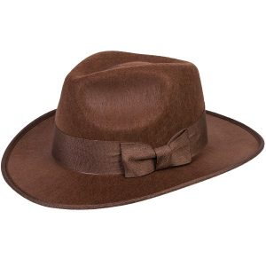Indiana Jones Brown Fedora Hat