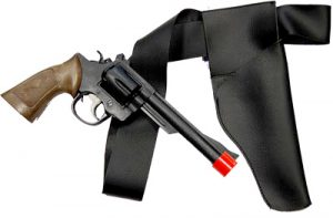 Adult Gun, Belt and Holster