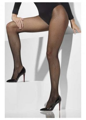 Black Fishnet Pantyhose Extra Large