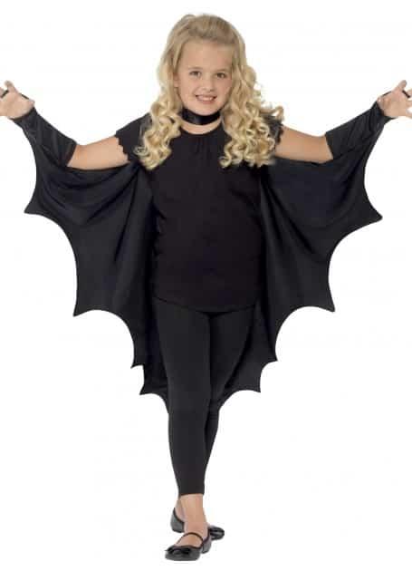 Black Vampire Bat Wings