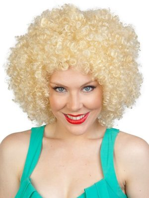Blonde Hernando Afro
