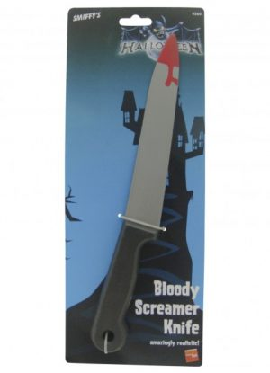 Blood Stained Screamer Knife