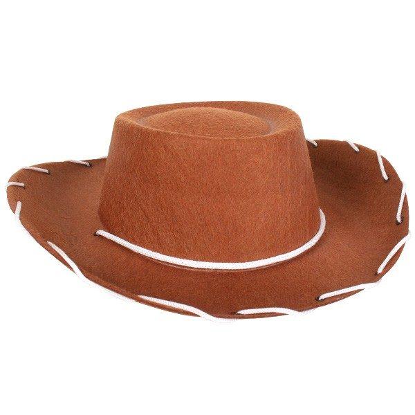 Cowboy Hat Child Brown