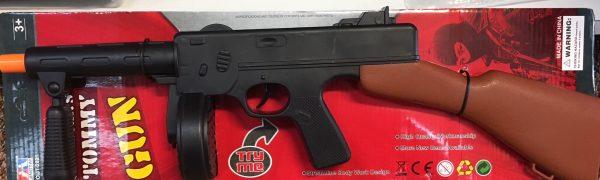 Gangster Tommy Gun 50cm