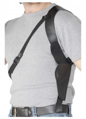 Leather Look Shoulder Holster