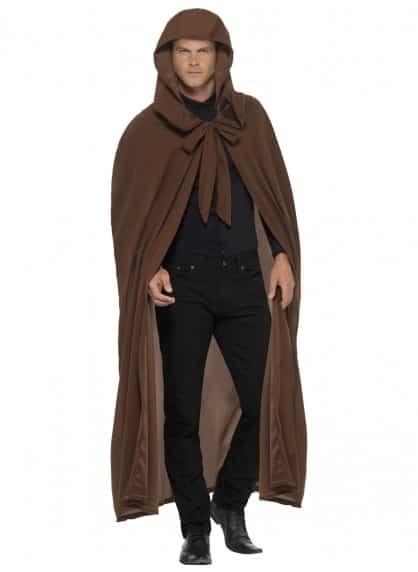 Long Brown Gravekeeper Cloak