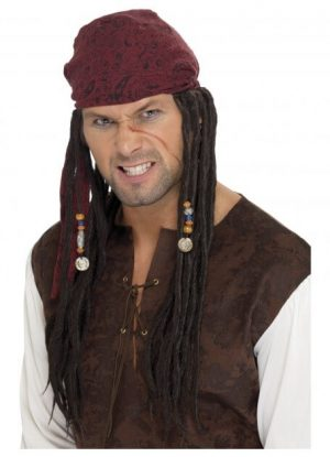 Pirate Wig _ Scarf