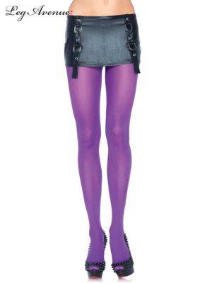 Purple Nylon Tights