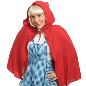 Red Riding Hood Hooded Cape