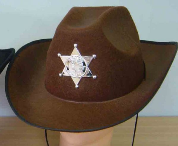 Sheriff Brown Hat