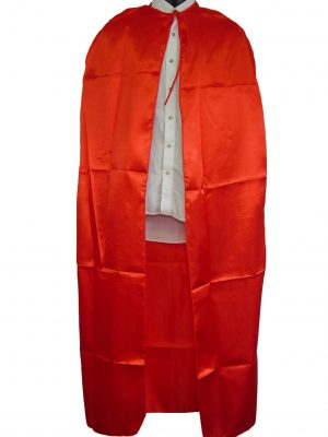Super Hero Red Cape 1.4cm for Adult