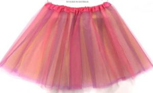 Tutu Fuschia Multi