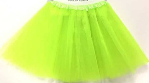 Tutu fluro green