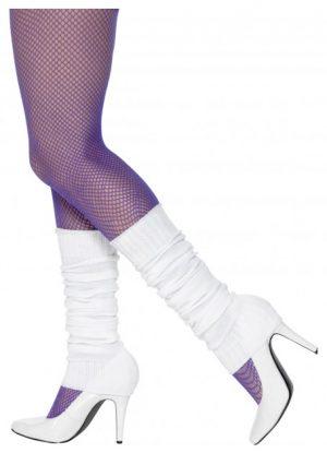 white legwarmers