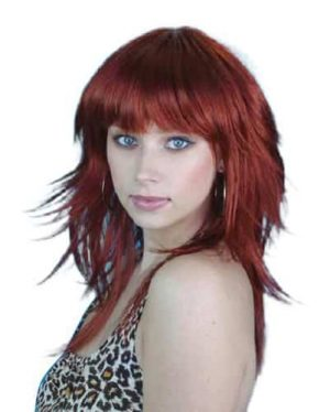 Wig Auburn Retro
