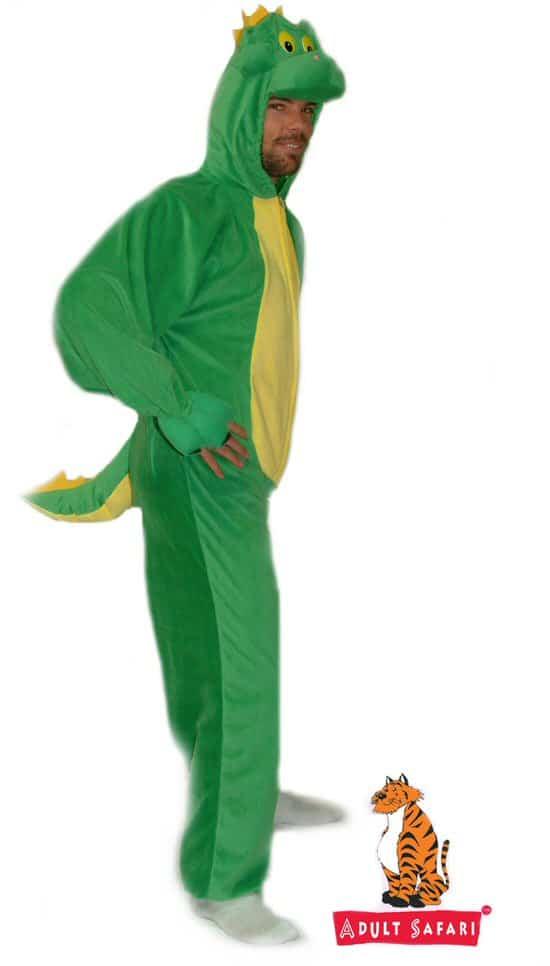 Adult Safari Costume - Dinosaur
