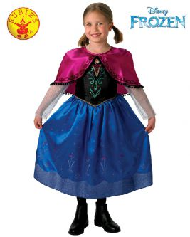 Anna Frozen Deluxe Child Costume