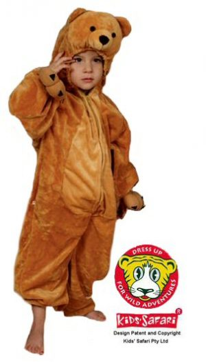 Bear Costume Kids Safari