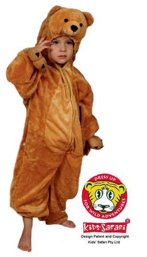 Bear Costume Kids Safari Kids Safari  sc 1 st  Costume Hire Frankston & Bear Costume - Abracadabra Fancy Dress