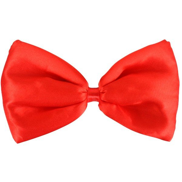 Bow Tie Puffy Red