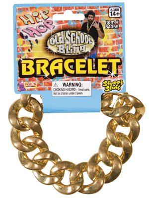 Bracelet Large Links Gold