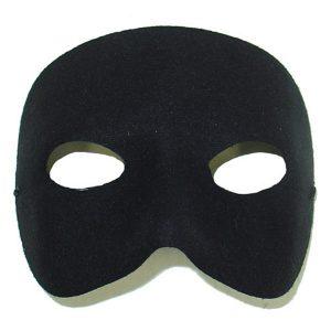 Casanova Black Eye Mask