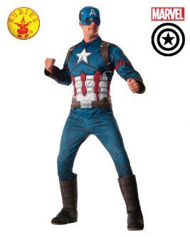 Captain America Deluxe Adult Costume