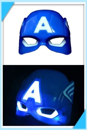 Captain America Light Up Mask