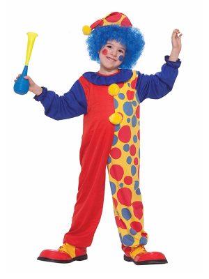 Clown Boys Medium Costume