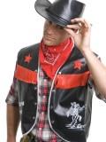 Cowboy Vest with Bandana