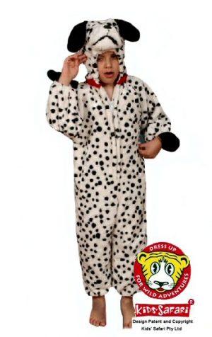 Dalmatian Costume Kids Safari Large
