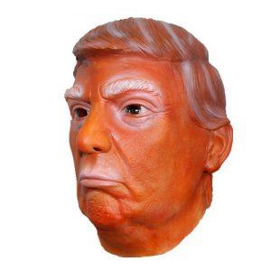 Donald Trump Latex Mask - Orange