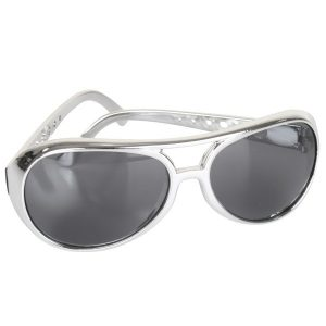 Elvis Silver Sunglasses