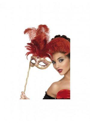 Fever Baroque Fantasy Eyemask, Red