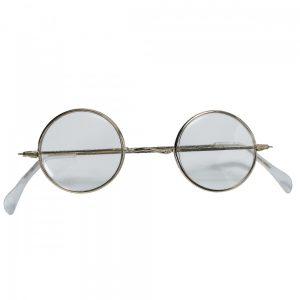 Granny or Santa Round Christmas Glasses
