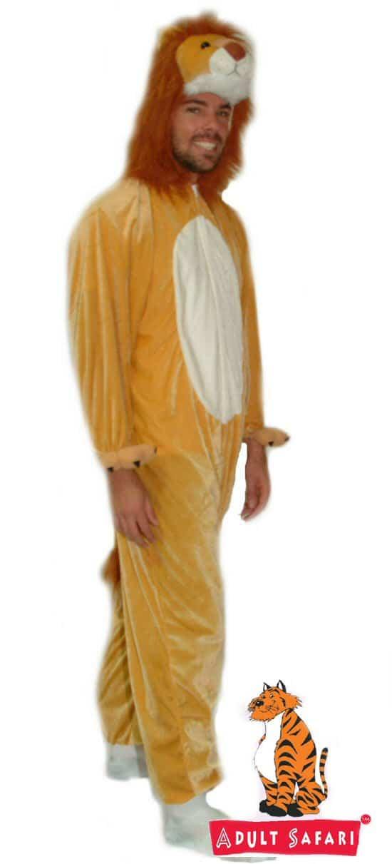 Kids Safari Adult Costume - Lion