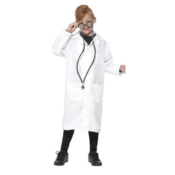 Lab Coat Scientist Costume boy