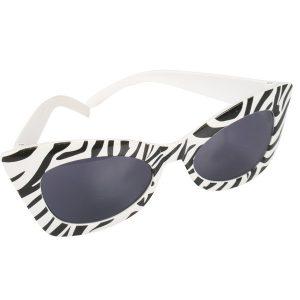 Marilyn Zebra Sunglasses