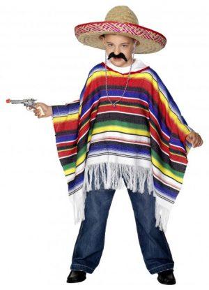 Mexican Poncho Kids