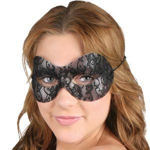 Naomi Black Lace Eye Mask