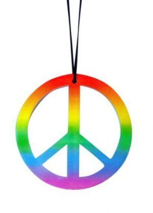 Armband Snake Egyptian - image Necklace-Rainbow-Peace-Sign-300x417 on https://www.abracadabrafancydress.com.au