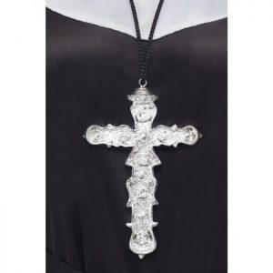 Nuns Ornate Cross Pendant
