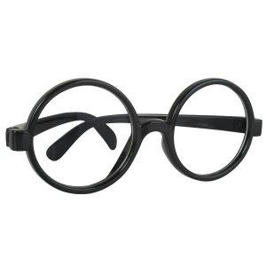 Owl Black Rimmed Glasses No Lenses Where's Wally