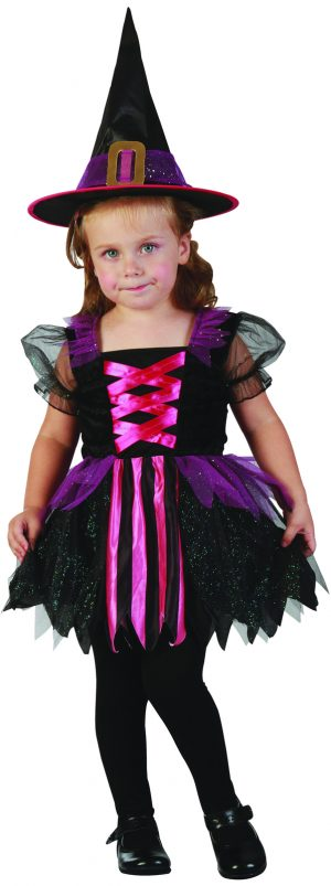 Pretty Witch Toddler Size